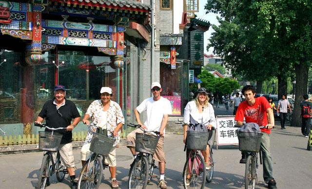 A vélo à Pékin