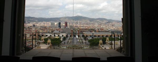 Vue Musée Barcelone