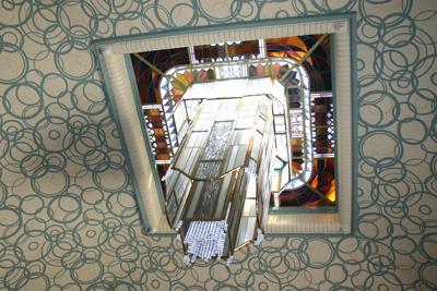 plafond biblio