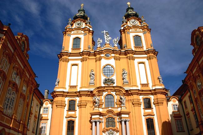 Cour de l'abbaye de Melk
