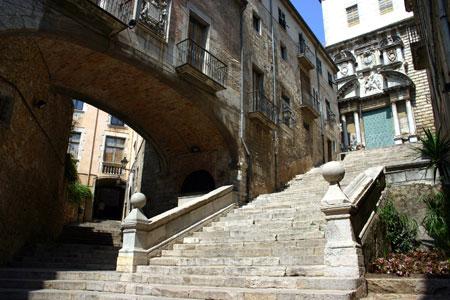 Gérone Escalier