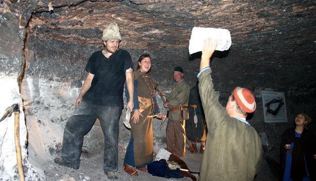 Celtes à la mine